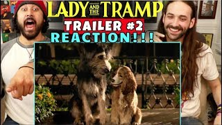 Lady And The Tramp | TRAILER #2 - REACTION!!! by The Reel Rejects