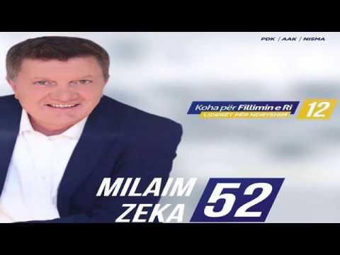 Milaim Zeka merr përkrahje të madhe në garën për deputet (Video)