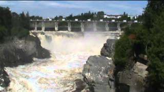 Grand Falls (NB) Canada  city photo : Grand Falls Waterfall, Grand Falls NB - June 30, 2012
