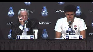 ACCT PC: Roy Williams, Cam Johnson Post-Duke