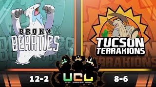 Bronx Beartics vs T. Terrakions [UCL S2W15] Pokemon Omega Ruby & Alpha Sapphire Live Wi-Fi Battle by PokeaimMD