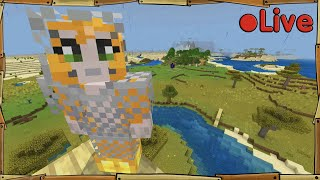 Relearning Minecraft - House On A Hill - • Live
