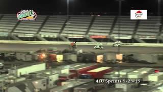 Knoxville Raceway 410 Sprints 5-23-15