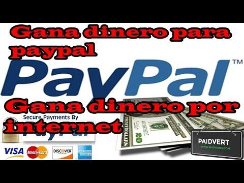 Como Ganar Dinero Gratis Para Paypal EN en Internet rapido [2015]