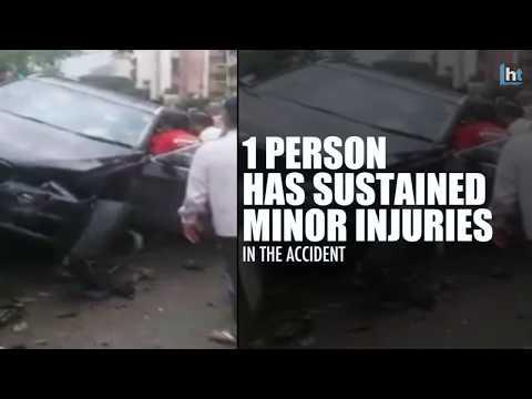 Video 'Humpty Sharma Ki Dulhania' actor Siddharth Shukla hit 3 cars, injuring 1 while driving his BMW download in MP3, 3GP, MP4, WEBM, AVI, FLV January 2017