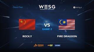 Rock.Y против Fire Dragoon, Вторая карта, WESG 2017 Grand Final