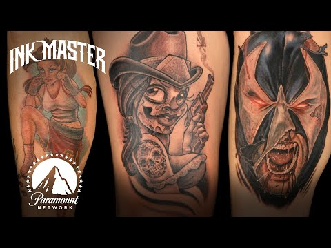 Every Winning Elimination Tattoo from Season 3 | Ink Master