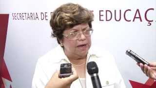 VÍDEO: Entrevista da secretária de Estado de Educação, Ana Lúcia Gazzola, sobre os resultados do Proalfa