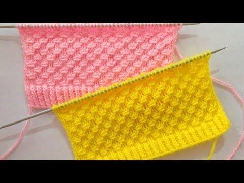 Beautiful Knitting Stitch Pattern For Sweater