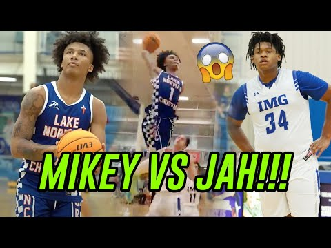 Mikey Williams Vs Jahzare Jackson GOT WILD! Mikey Scores 1 In 1st Half, Gets Angry & DROPS 21 In 2nd