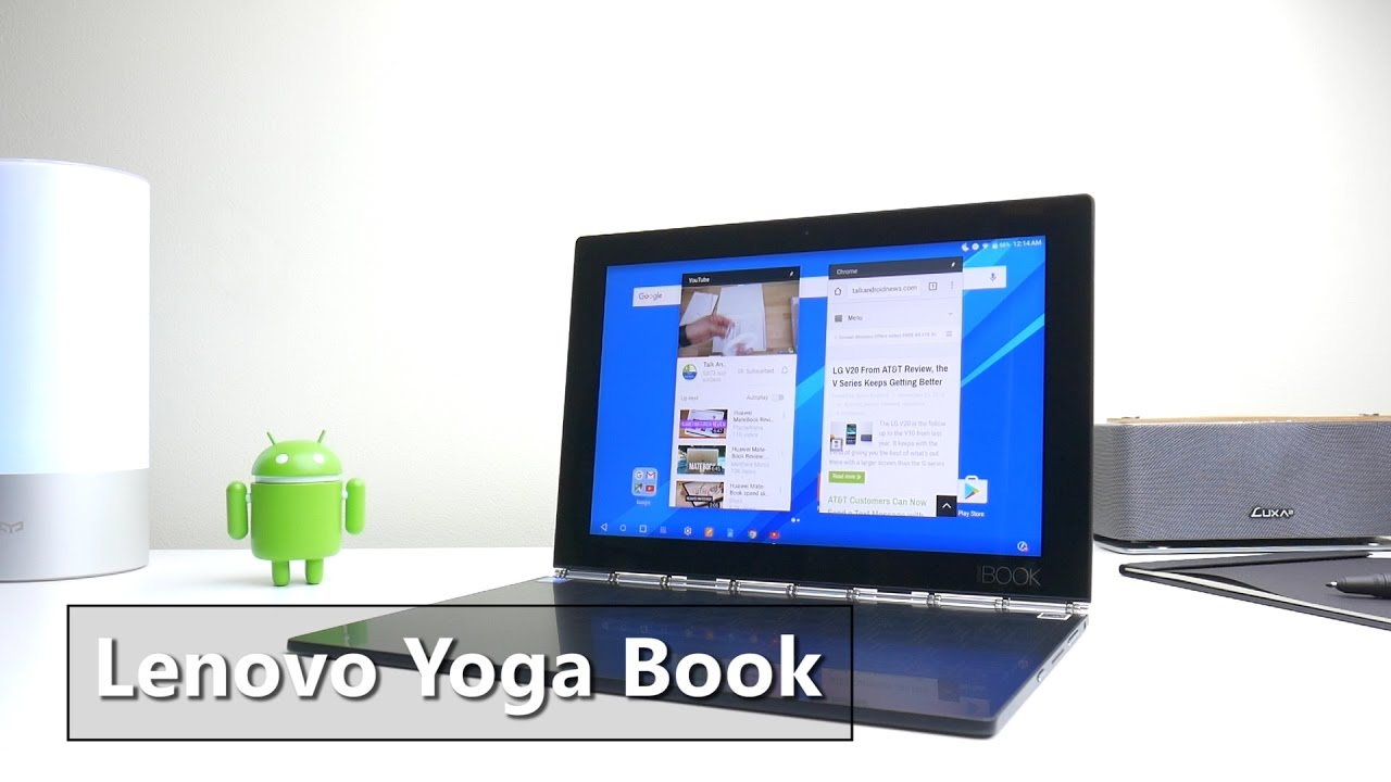 Lenovo Yoga Book Review, Most Innovative Android Tablet this Year