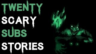 20 SCARY TRUE SUBSCRIBERS HORROR STORIES - Vol.4 (Be Busta)