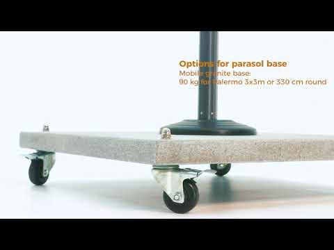 Palermo Cantilever Granite Base Option
