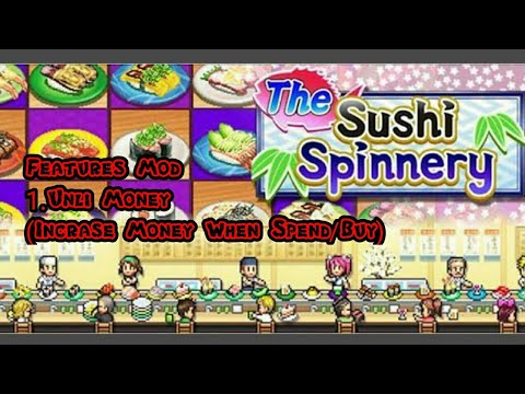 The Sushi Spinnery Mod - Kairosoft Game Mod