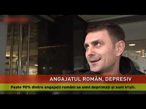 Angajații români, în pragul depresiei