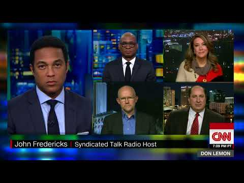 CNN's Don Lemon cut conservative radio host John Fredericks' mic off during a panel discussion