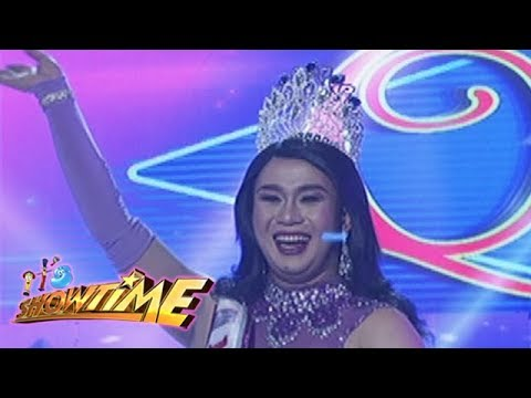 It's Showtime Miss Q & A: Angel Dumalay Sequite Alferos gets another crown