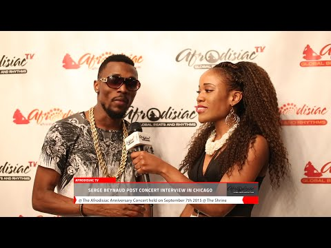 Afrodisiac Anniversary Concert Interviews With Serge Beynaud, Eddy Kenzo & Coco Argentee