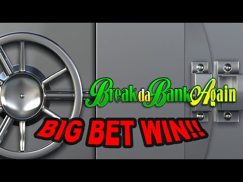 BIG WIN on Break da Bank Again Slot - £9 Bet!!