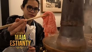 Video AL Dul Alyssa Maia Estianty Nikmati Makan Shabu Di Jepang #MAIAESTIANTYVLOG MP3, 3GP, MP4, WEBM, AVI, FLV Januari 2019