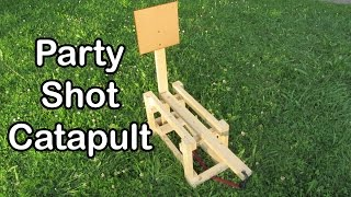 http://www.doityourselfgadgets.com/2015/09/homemade-candy-catapult.htmlIn this video I am going to show you how to build your own homemade shot catapult! This party game is a lot of fun and easy to construct!Further intstructions can be found here: http://www.doityourselfgadgets.com/2015/09/homemade-candy-catapult.htmlPlease subscribe to my channel for future projects!My Channel: http://www.youtube.com/user/TheLiquiderMy Website:http://www.doityourselfgadgets.com/Like me on facebook: http://www.facebook.com/DIYTechgadgetsMusic:www.machinimasound.com - Dance of the pixies© by Doityourselfgadets