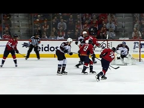 Big John Carlson comes off bench, buries slap shot past Semyon Varlamov