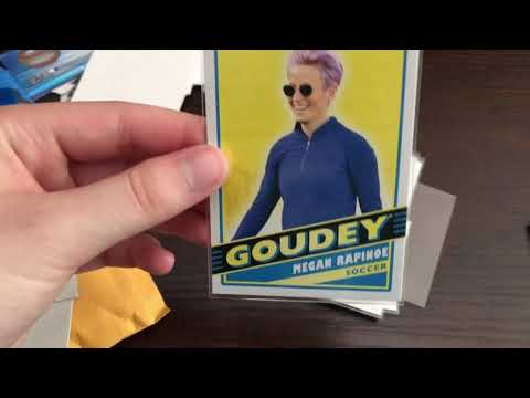 Opening USWNT Goodwin Champions 2020 Cards!