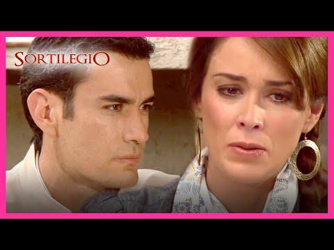 Sortilegio 3/4: Bruno presiona a Sandra para casarse con él   C-38   tlnovelas