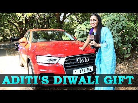 Aditi Sajwan gifts herself a car for Diwali!