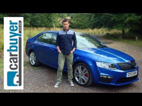 Skoda Octavia vRS hatchback 2013 review – CarBuyer