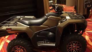 10. Sneak peek Suzuki King Quad 2019