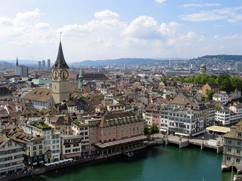 Switzerland - Recorded August 12, 2011: Video of Switzerland's largest city. From: http://timvp.com.
