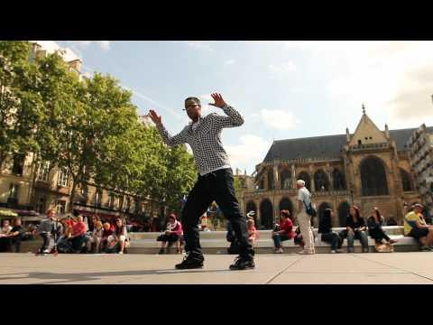 Popping - связка от Nelson (Los Kassos Crew) часть третья. г.Париж.