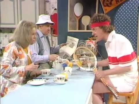 Classic Comedy: A Tennis Player's Breakfast