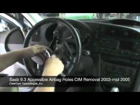 Saab 03-05 Acc Airbag CIM Removal.mov