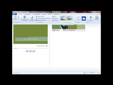 Windows Movie Maker Tutorial - Videobearbeitung Erste Schritte 2018 [Windows 7 - 10] [Deutsch]