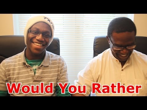 Would You Rather With My Dad