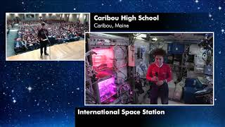Expedition 61 Inflight Event with Eastern Aroostook School Unit 39 - October 29, 2019 by NASA