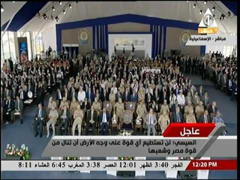 الرئيس السيسي يطالب المصريين بالتبرع لجمع 4 مليار جنيه لاستكمال مشروع جامعة زويل