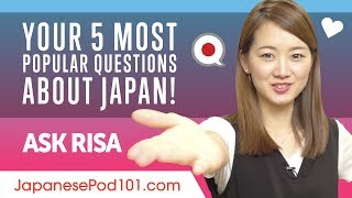 You've got questions about life in Japan, Japanese culture, or any language questions you don't want to sift through textbooks for the answer? https://goo.gl/vNeSk2 Ask Risa now! ↓Check how below↓To send your question to Risa it's simple and will take you less than 30 seconds.Step 1: Go to https://goo.gl/vNeSk2 Step 2: Sign up for a Free Lifetime AccountStep 3: Ask any question to Risa! Receive a special audiobook if your question is chosen!You'll find in this video a compilation of the 5 most popular questions Risa answered the last months!Your favourite Japanese teacher Risa takes the questions you've been asking and lay them out in an easy-to-follow format. Turn those question marks into exclamation points and get on with your Japanese study. Interact with Risa to clear up any confusion you have or just satisfy your curiosity. Not only you'll be able to send questions but also power up your language with your free lifetime account. Learning Japanese is made easy for you.Follow and write to us for more free content:■ Facebook: https://www.facebook.com/JapanesePod101■ Patreon: https://www.patreon.com/japanesepod101 ■ Twitter: https://twitter.com/JapanesePod101 ■ Tumblr: http://JapanesePod101.tumblr.comAlso, please LIKE, SHARE and COMMENT on our videos! We really appreciate it. Thanks!