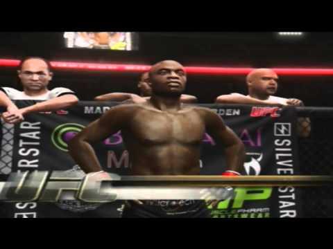 UFC Undisputed 3 gameplay - eu fiz uma pequena luta entre anderson spider silva vs vitor belfort.