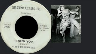 Download Lagu Cole & The Grandures -   I Need You -  CHI SOUND  3066  - 1962 / RARE POPCORN BALADE Mp3