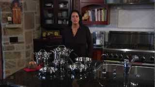 11 Piece Chef's Classic Cookware Set Demo Video Icon