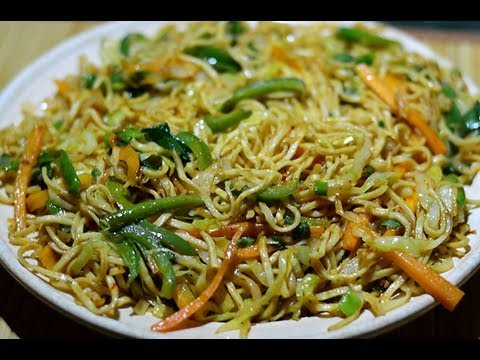 veg - Veg Noodles saute' with cabbage, carrots, capsicum, spring onions, green chillies, mixed along with 4 sauces and seasoned with spices and herbs to offer you ...