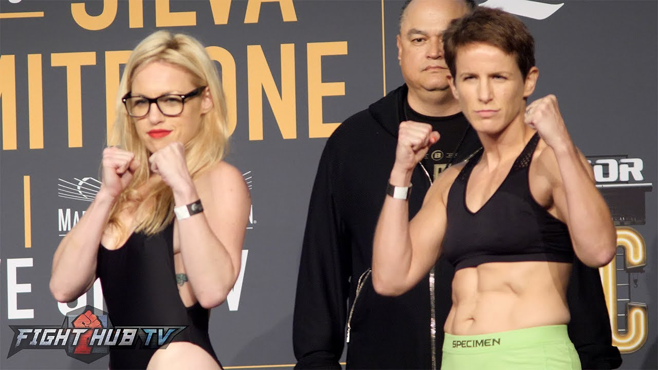 She has arrived! Heather Hardy vs. Alice Yauger Full Weigh in & Face Off Video
