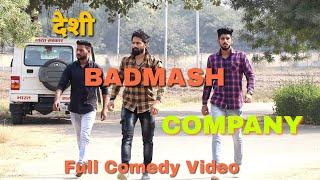 DESI BADMASH COMPANY II Haryanvi comedy video II A RUN FILMS