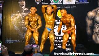 Mr Kuching Bodybuilder 2014 Sarawak Malaysia Event 古晋健美先生比赛 砂拉越马来西亚婆罗洲游踪