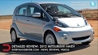 2012 Mitsubishi I Miev Electric Car DETAILED Review On Everyman Driver