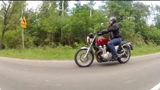 8. (ENG) Honda CB1100 - Road Test and Review