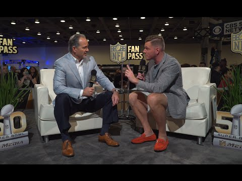 Pat McAfee interviews his own coach, Chuck Pagano | NFL Fan Pass